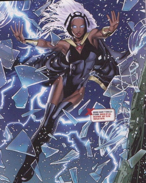 Storm! Queen of Wakanda (And the weather! lol)