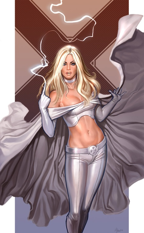 Emma Frost! The White Queen!