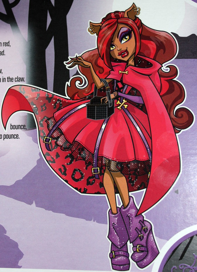 Halloween Series: Monster High's Clawdeen Wolf as Little Dead Riding Wolf!