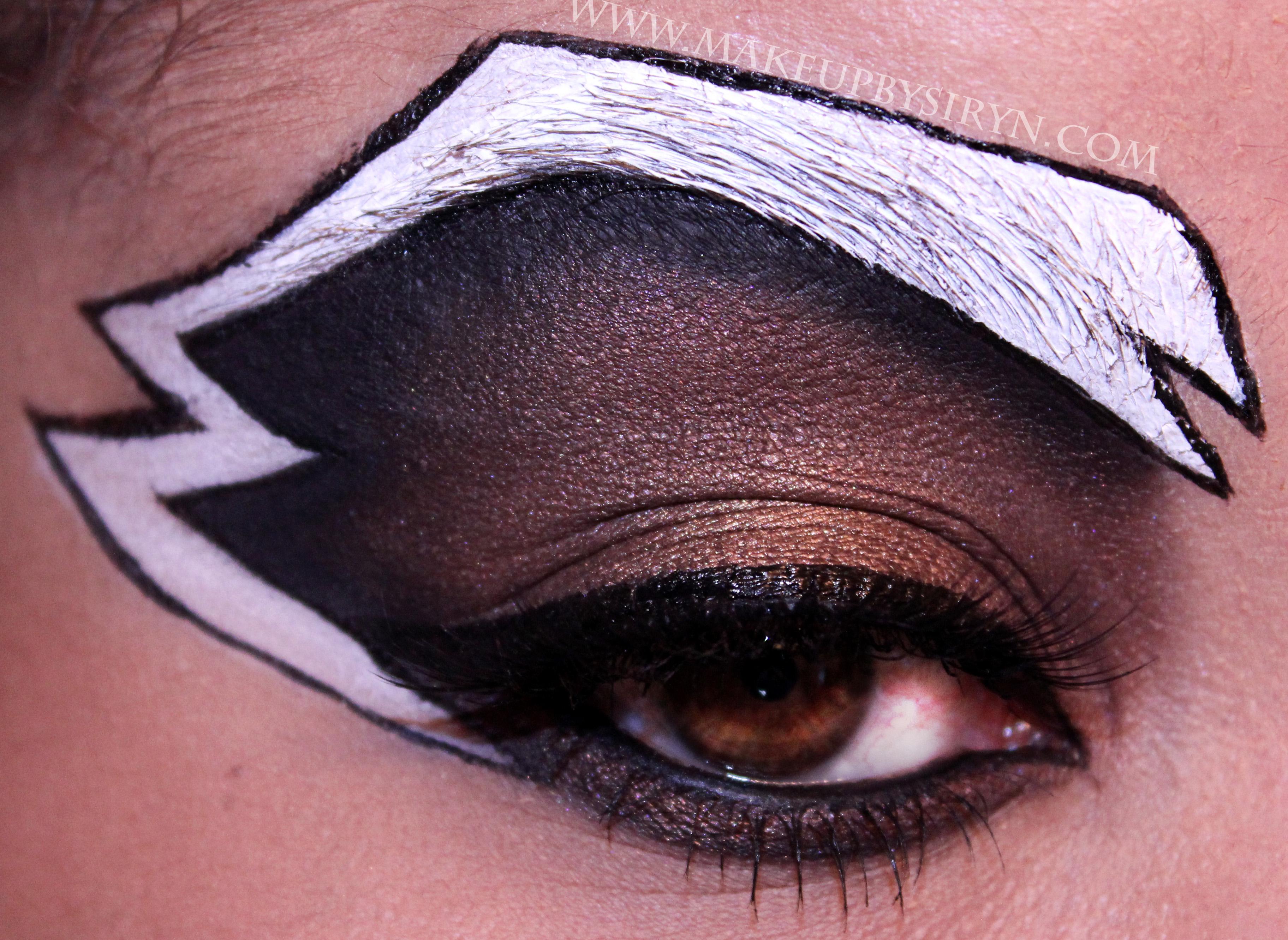Rocket Raccoon Inspired Eotd Makeup By Siryn