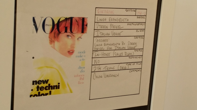 Lists of things used on Linda Evangelista.