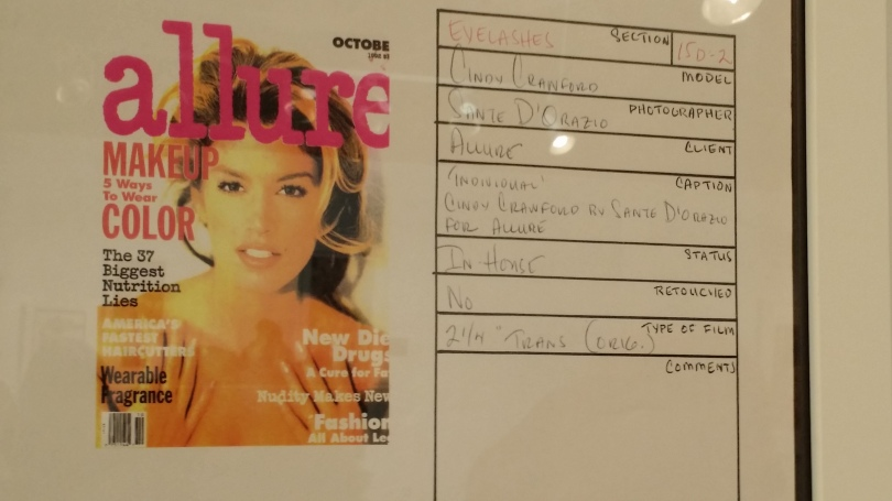 Lists of things used on Cindy Crawford.