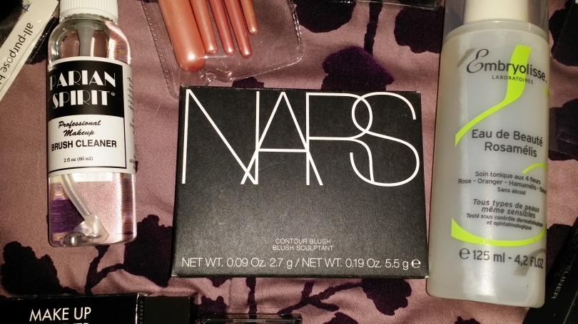 Nars Contour Blush palette in Olympia (Available April 2014).