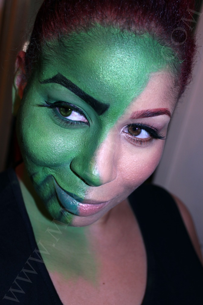 Skrull Transformation Makeup!