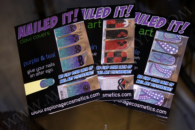 "Espionage Cosmetics ""Nailed It!"" Nail Wrap Giveaway! *CLOSED*"