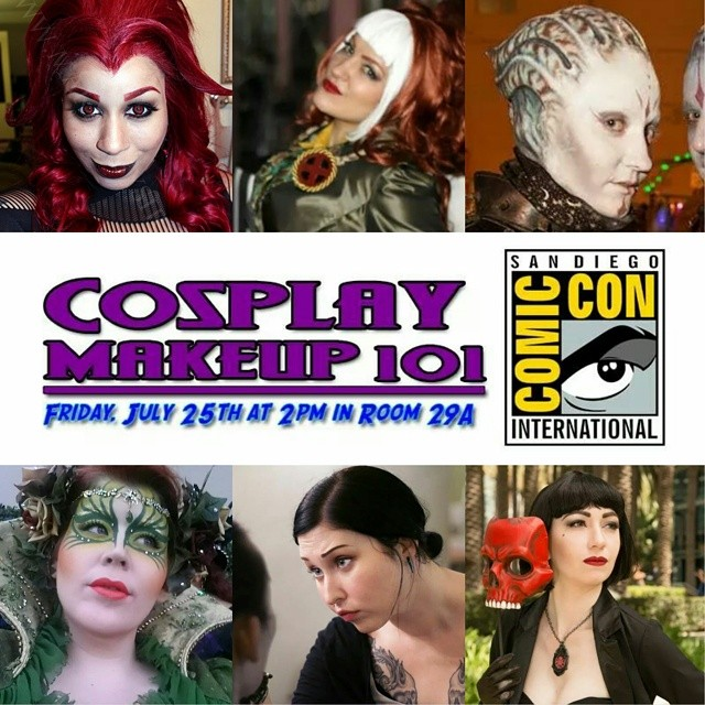 Cosplay Makeup 101 At San Diego Comic Con International!