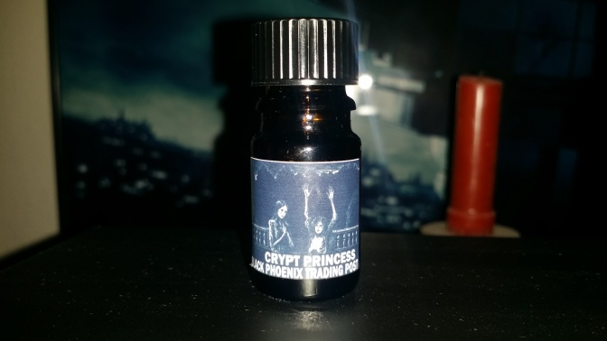 Black Phoenix Trading Post Crypt Princess Perfume Oil Review!