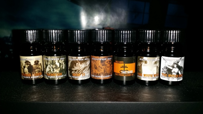 Black Phoenix Alchemy Lab Halloween Scents Review!
