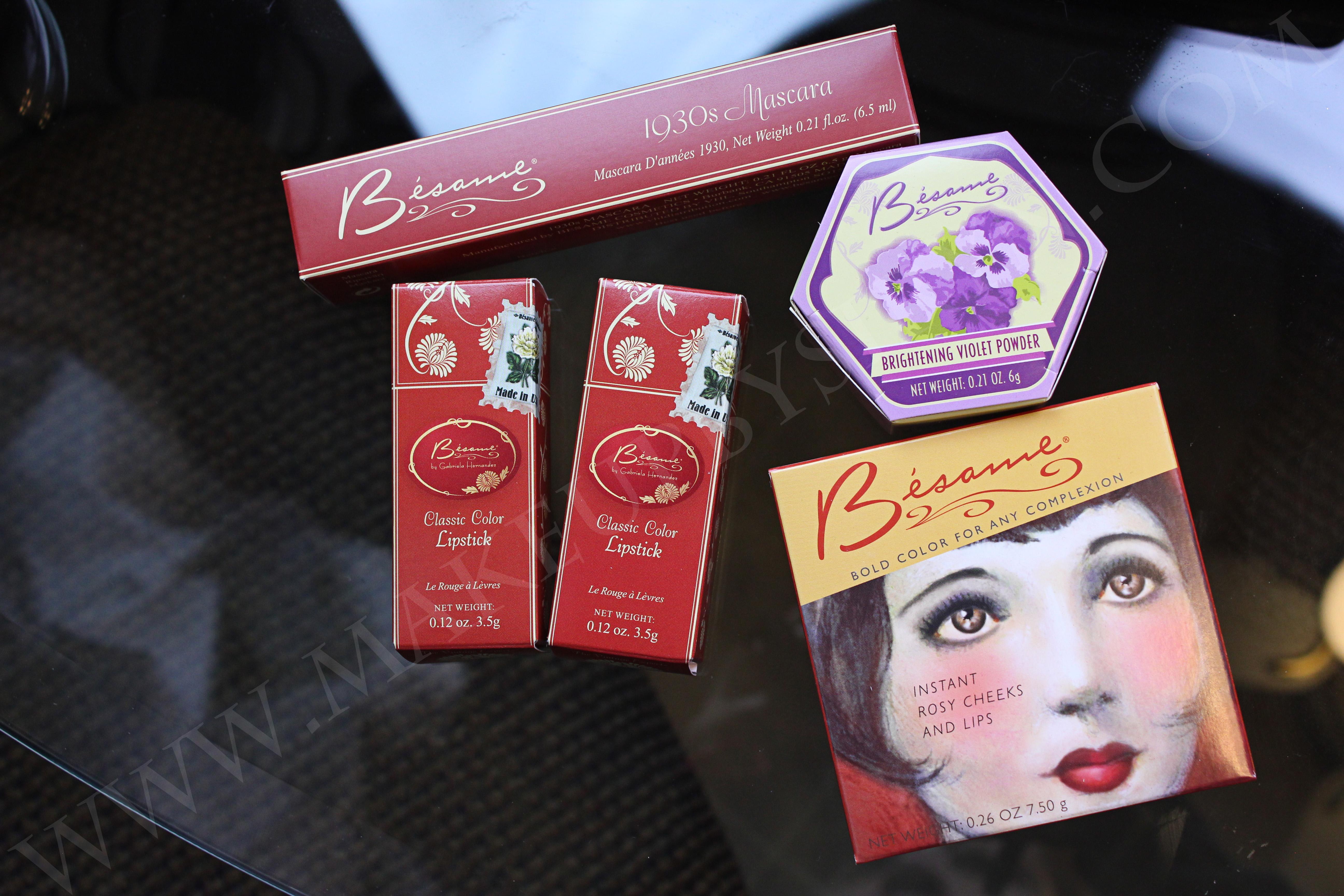 Bésame cosmetics review